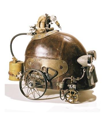 steampunk robot, stephane halleux