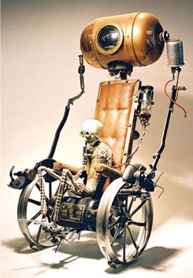 steampunk figure