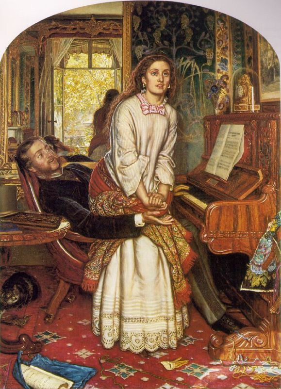 The Awakening Conscience by William Holman Hunt (1853) © Tate, London