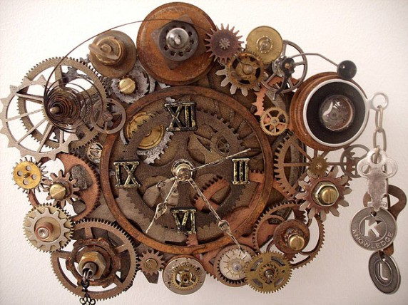 Image result for Steampunk Clock
