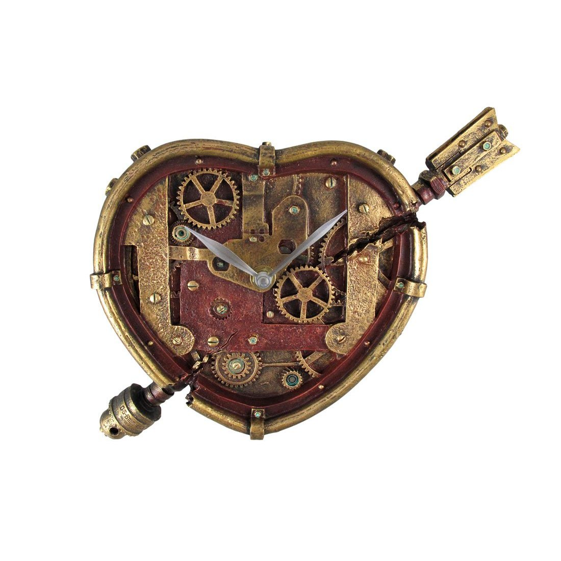 Steampunk clocks a steampunk opera the dolls of new albion for Steampunk wall clocks for sale