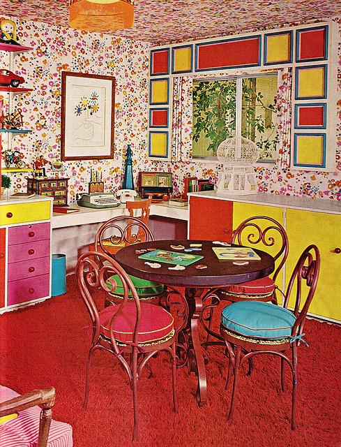 70s atompunk home design