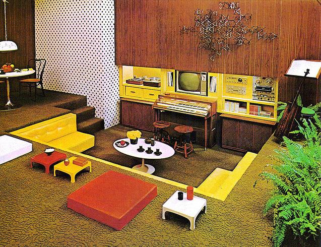 70s atompunk home design - 70s Home Design