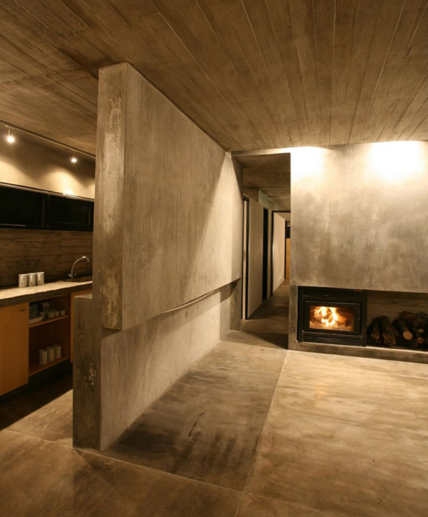 concrete house
