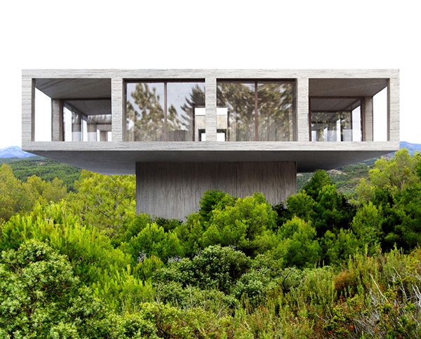 the solo house concrete house