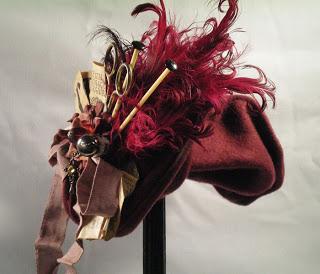 steampunk victorian hat