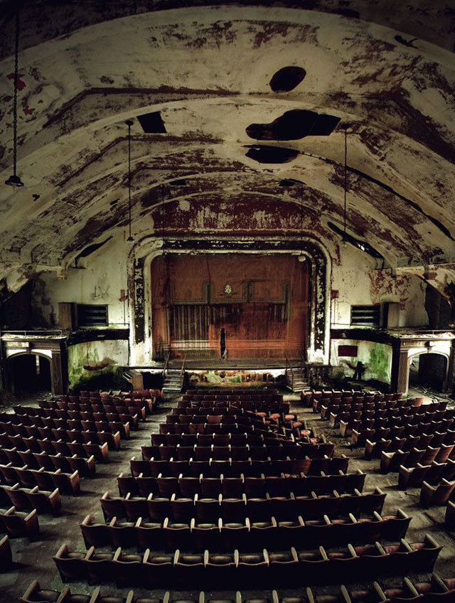 The Most Beautiful Abandoned Places A Steampunk Opera