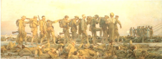 Gassed by John Sargent, 1918