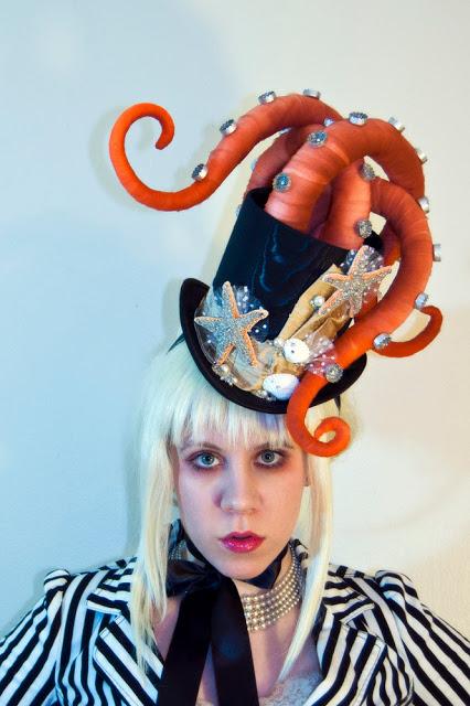 steampunk octopus hat
