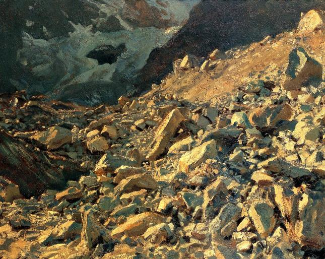 Moraine by John Sargent, 1908