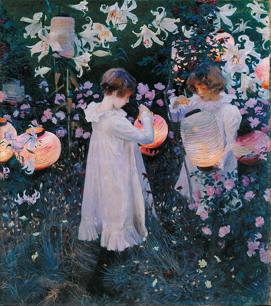 Carnation, Lily, Lily, Rose by John Sargent
