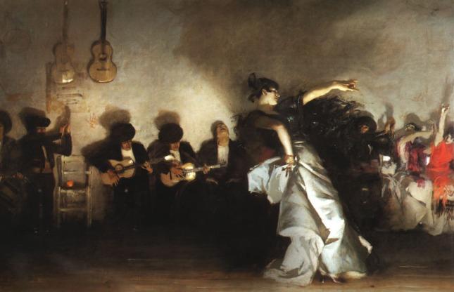 El Jaleo by John Sargent, 1882