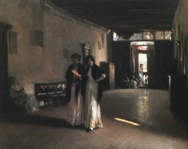 Venetian Interior by John Sargent 1882