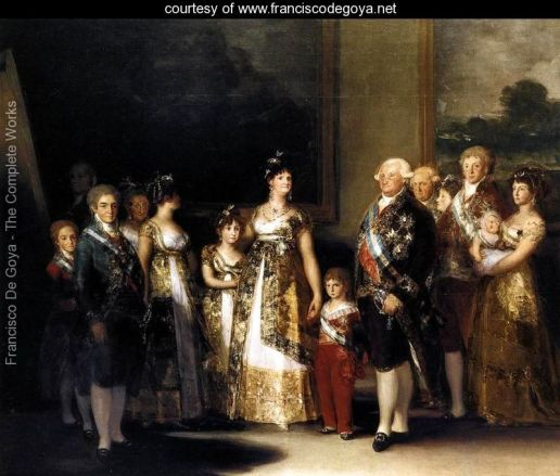 Charles IV of Spain and His Family,