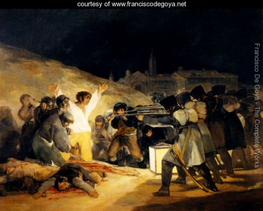 The Shootings of May Third 1808