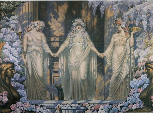 The Women of Eleusis, Jean Delville