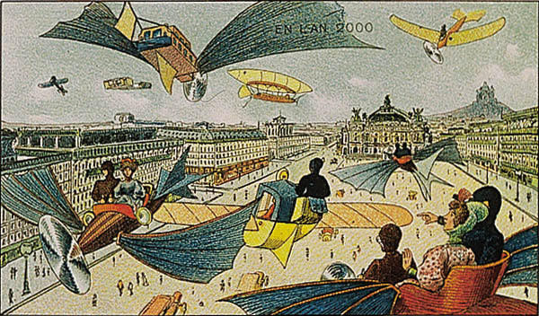 Year 2000, predicted in 1910 Villemard
