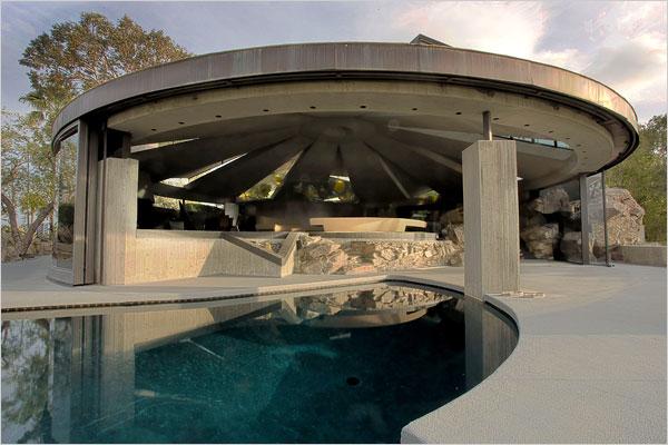 John Lautner Atompunk space age architecture