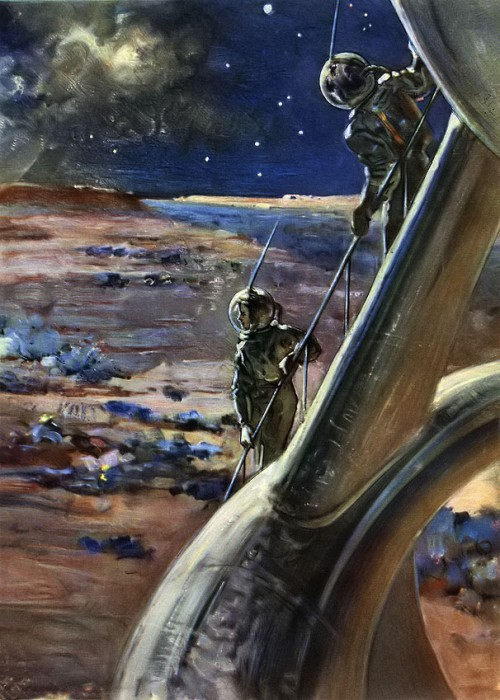 Nikolai Kolchitsky russian space art