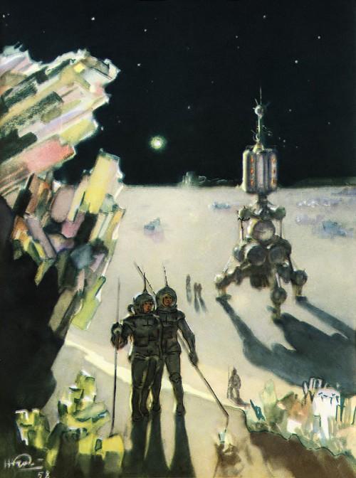 Nikolai Kolchitsky russian space art