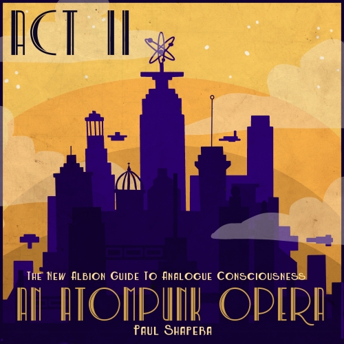 The Atompunk Opera, Act 2 Cover by Sarah de Buck . GAWD i love her covers for the acts.