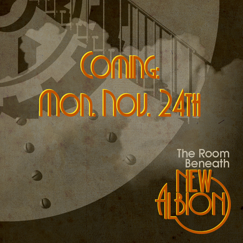 Coming The Room Beneath New Albion