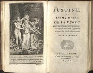 Justine Marquis de Sade