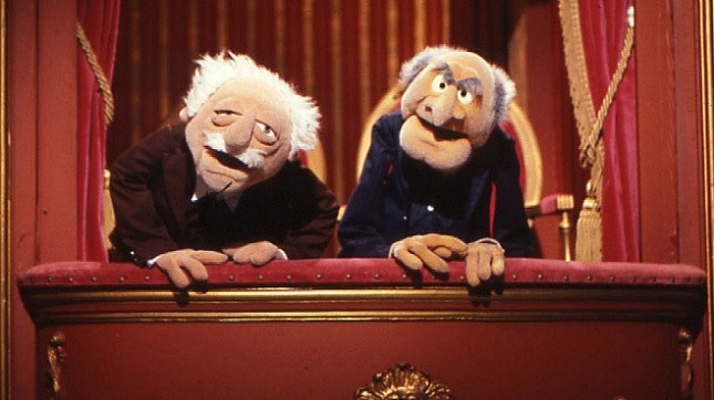 Statler and Waldorf: