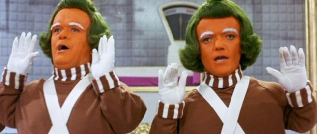the oompa loompas