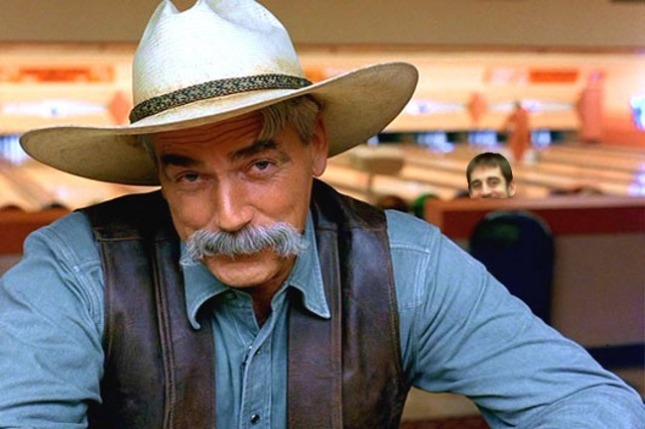 The cowboy from The Big Lebowski
