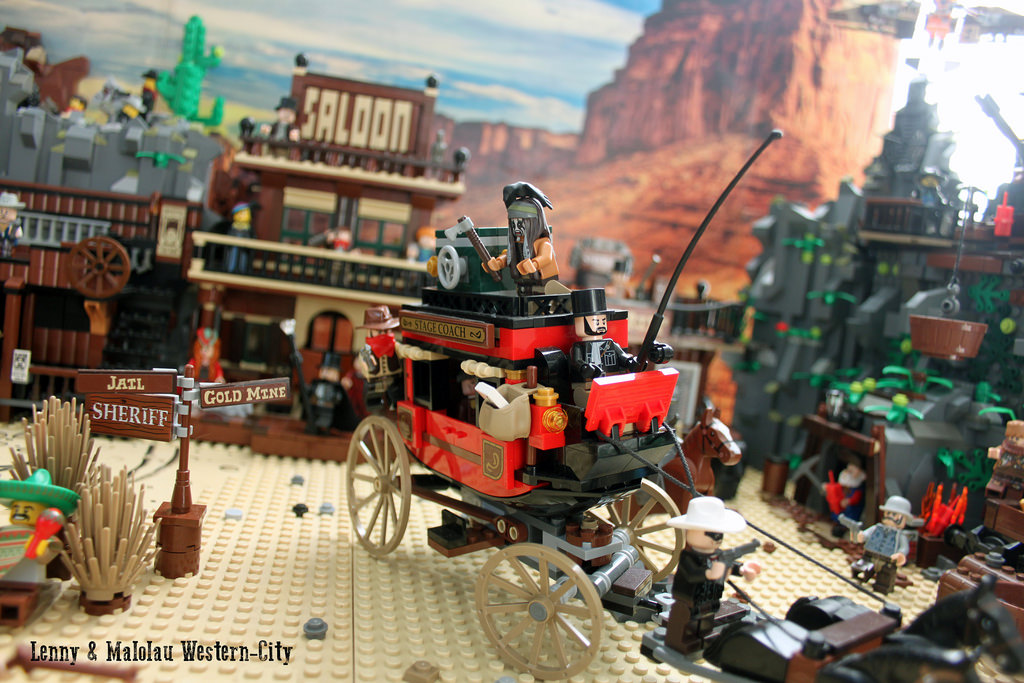 lego wild west city