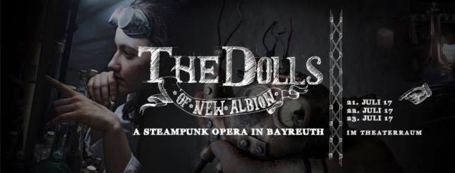Dolls Of New Albion in Bayreuth, Germany 2017