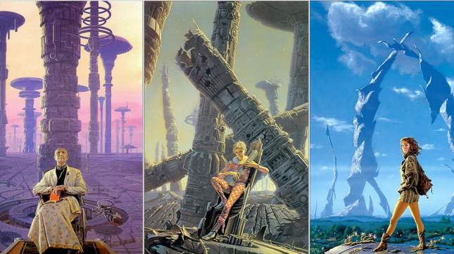 Cover art for Isaac Asimov's Foundation Trilogy